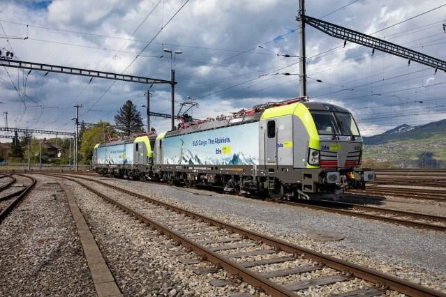 Siemens liefert erste Vectron MS Loks an BLS Cargo aus. (Foto: © BLS Cargo)