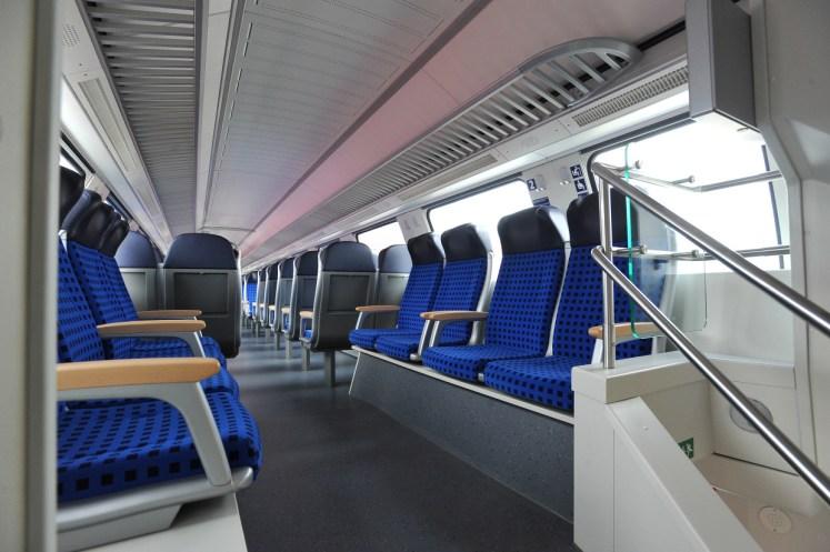 Fahrgastraum in einem Doppelstockwagen von DB Regio. (Foto: © DB AG / Jet-Foto Kranert)