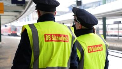 Symbolbild: Mitarbeiter der DB Sicherheit. (Foto: © DB AG / Jet-Foto, Kranert)