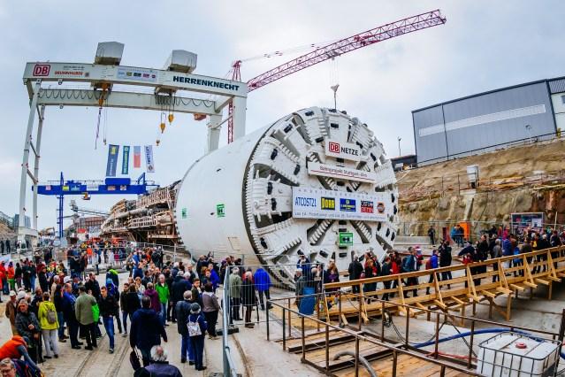 Tag der offenen Baustelle am Fildertunnel (Foto: © DB Projekt Stuttgart–Ulm)