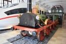 """Nachbau der historischen Dampflokomotive """"Adler"""" im DB Museum Nürnberg. (Foto: © Bahnblogstelle)"""