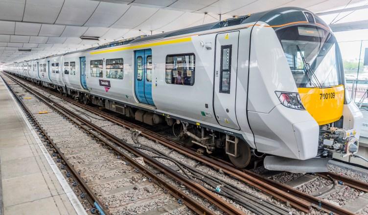 Thameslink zeigt den Nahverkehr der Zukunft für London am Bahnhof Blackfriars. (Foto: © Siemens)