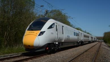 Neuer Hochgeschwindigkeitzug IEP in UK von Hersteller Hitachi Rail Europe. (Foto: © Hitachi Rail Europe)