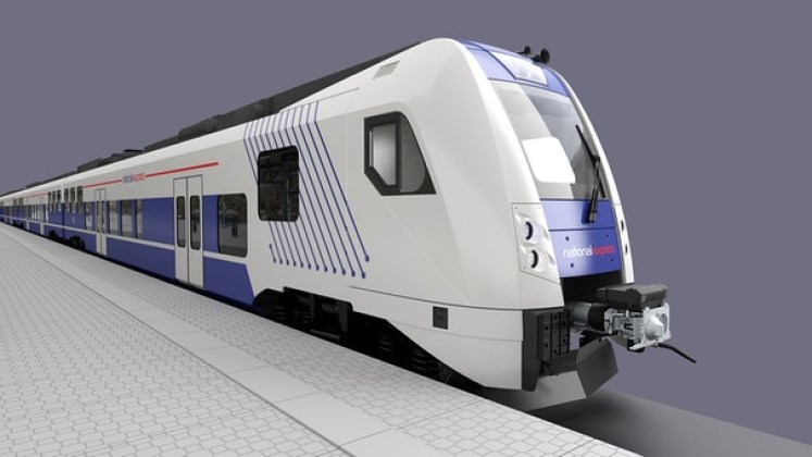 Ein Zug der National Express Rail. (Grafik: © National Express Rail)