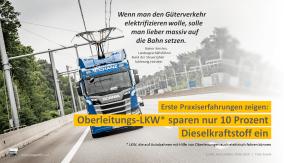 Erste Praxiserfahrungen zeigen, dass Oberleitungs-Lkw nur 10 Prozent Dieselkraftstoff einsparen. Der Bund der Steuerzahler kritisiert daher die Milliardeninvestitionen in das Projekt des Bundesumweltministeriums scharf: Wenn man den Güterverkehr elektrifizieren wolle, solle man lieber massiv auf die Bahn setzen, sagte der Landesgeschäftsführer vom Bund der Steuerzahler Schleswig-Holstein, Rainer Kersten, gegenüber FOCUS ONLINE.
