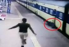 Photo of فيديو مخيف.. حاول ركوب قطار مسرع فوقعت النهاية الصادمة