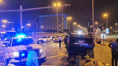 Photo of إصابة بحريني و آسيوي في تصادم على شارع الملك فيصل
