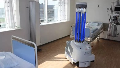 Photo of فيديو| روبوتات ذاتية تستخدم لتطهير غرف المستشفى بالأشعة فوق البنفسجية المركزة