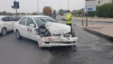 Photo of إصابة سيدة عربية في تصادم على شارع الجنبية