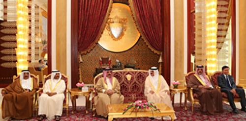 HM the King commended the parliamentary efforts to bolster national unity