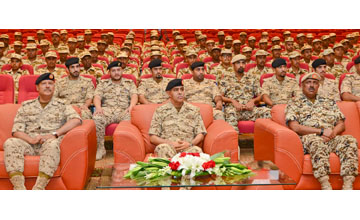 BDF Chief of Staff inaugurates Cadets Session 12