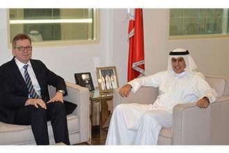 Industry Minister receives German Ambassador