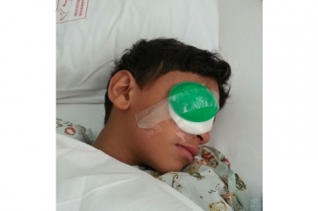 Nine-Year-Old Boy Shot in Eye by Bahraini Police