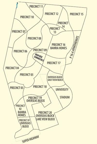 Precincts of Bahria Town Karachi