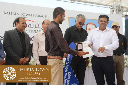 Possession Handover Ceremony of 200 Sq Yard Bahria Homes (Quaid Block) (15)
