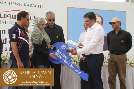 Possession Handover Ceremony of 200 Sq Yard Bahria Homes (Quaid Block) (7)