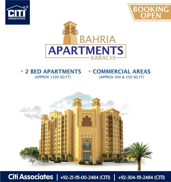 Booking Open Now Bahria Apartments