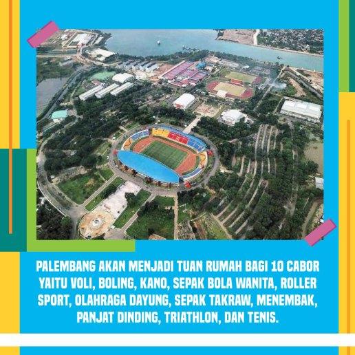 Palembang untuk Asian Games 2018