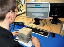 02 mengukur waktu transmit kubus beton