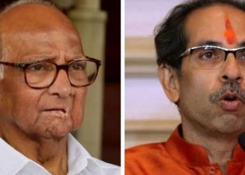 bjp-leader-targets-cm-thackeray-and-sharad-pawar-says-chief-minister-took-responsibility-for-his-family-and
