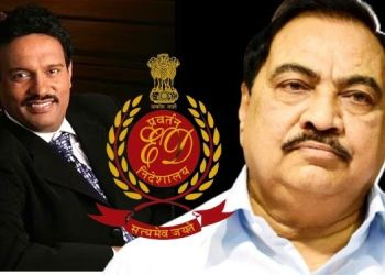 Pune News | ED's inquiry to 2 revenue officers in Pune; Builder Avinash Bhosale, former minister Eknath Khadse's difficulty increased