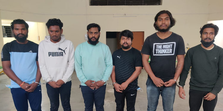 Pimpri Chinchwad Police 6 inmates arrested for celebrating Ravana gang chief s birthday Pistols cartridges confiscated