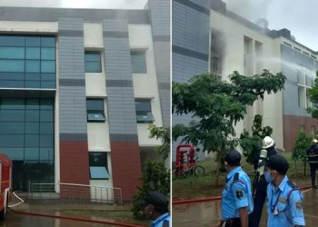 Pune Fire News fire breaks out inside indian institute of science education and research pune update