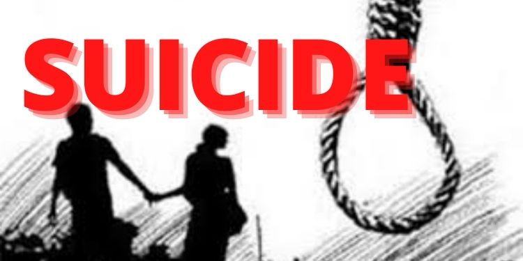 Beed Suicide | A couple who came to Beed district from Kolhapur committed suicide by strangulation; Huge excitement
