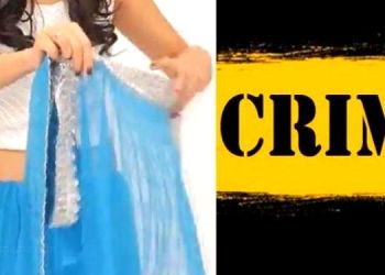 Pune Crime | photos taken while wearing and taking off a new sari in close room near pune railway station.
