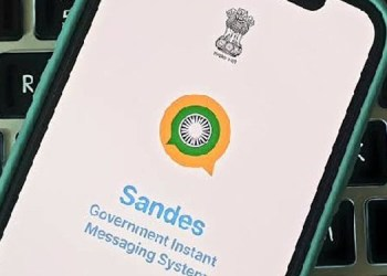 whatsapp central government developed sandes app to compete whatsapp