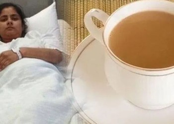 Bad Habits drink tea as soon as you wake up in the morning be careful this mistake can make you sick