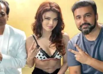 Raj Kundra Pornography Case | Sherlyn Chopra shared a photo of her first shoot with Raj Kundra, saying - 'It was a new experience for me
