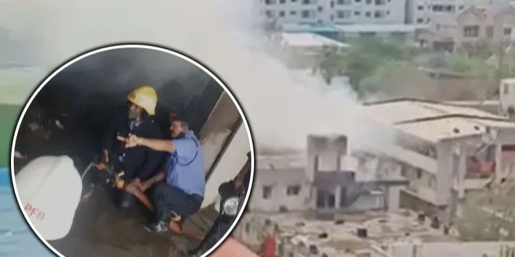 Pune Fire News   One killed in Pune company fire, death toll likely to rise; Fire control.