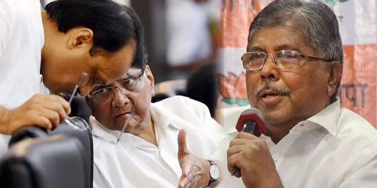 Chandrakant Patil | income tax department raids due to criticism made by sharad pawar chandrakant patils explanation.