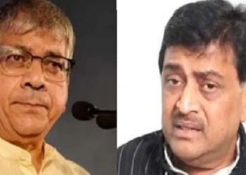 Prakash ambedkar prakash ambedkars direct threat to ashok chavan he said do you want to go to jail with your wife and mother-in-law.