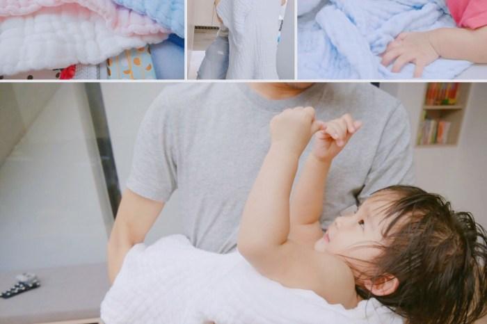 [啾團] 對寶寶最溫柔的呵護,最講究的浴巾!英國 JustGreen 十層澎澎紗純棉紗布浴巾/小方巾