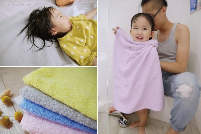 [啾團] 小朋友洗完澡不怕著涼!吸水超迅速又快乾的Harulez日本製毛巾/韓國MOMS NATURE防水墊