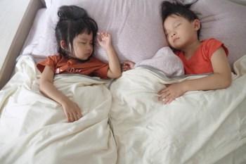[啾團] 不怕不怕,有轉頭囍有機棉呼吸抗螨防蚊毯讓家裡/外出睡覺安心又放心