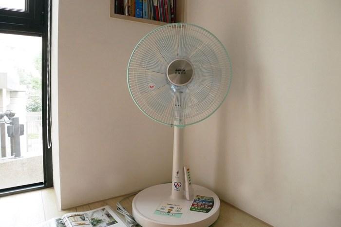 [生活] SANYO三洋14吋DC遙控電風扇EF-14DRA!吹起來風很大!很涼爽