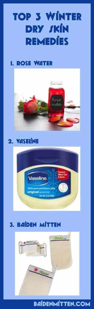 3 winter dry skin remedies