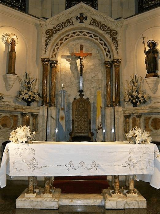 altar santiago apostol