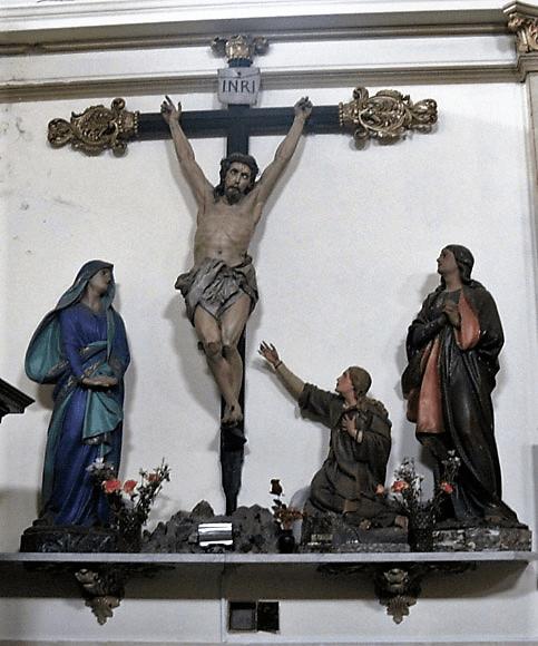san pedreo boca cristo crucificado
