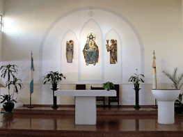 jesus buena esperanza altar