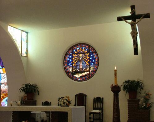 lujan del buen viaje altar