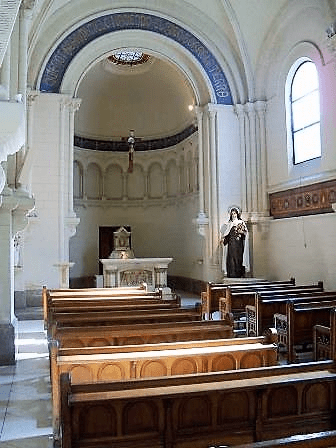 Vista capilla santa teresita