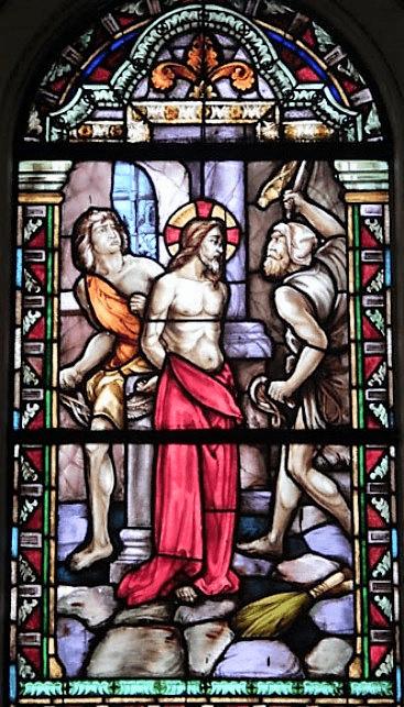 asuncion santisima virgen vitral 6