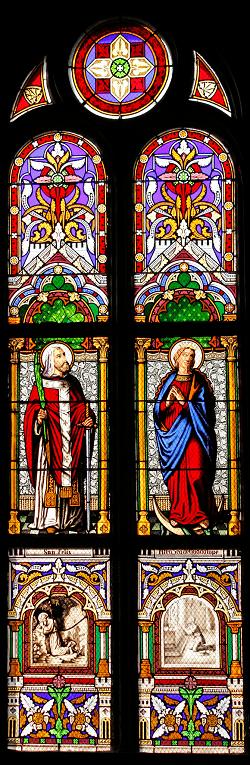 vitrales santa felicitas