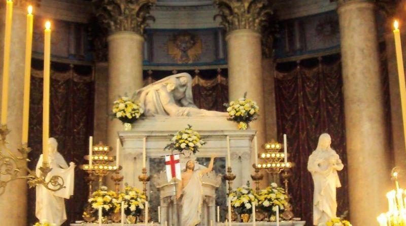altar mayor de nuestra señora de la piedad