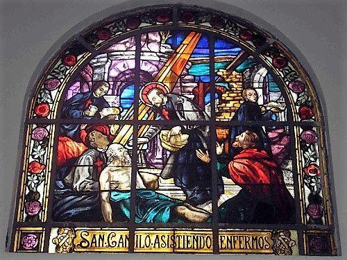 santa ines vitral 2