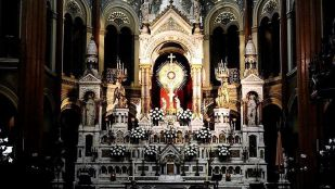 detalle altar santisimo